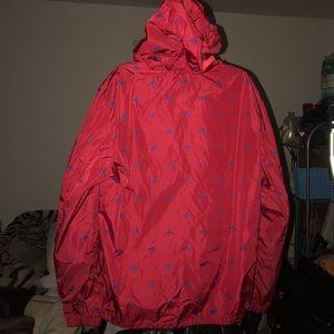 gucci jackets coats red windbreaker bee and star print poshmark
